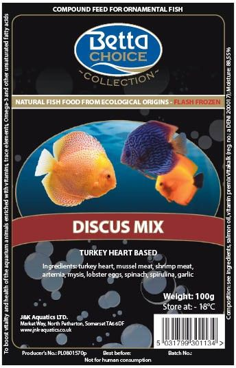 Betta Choice Frozen Discus