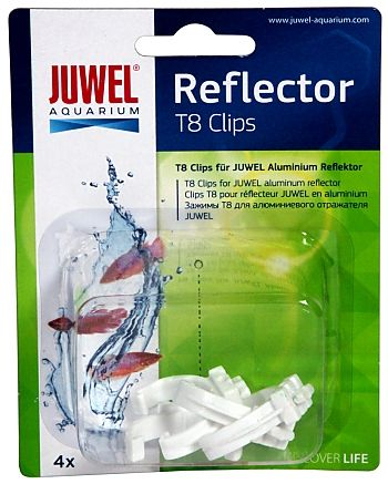 Juwel T8 High Lite Reflector Clips
